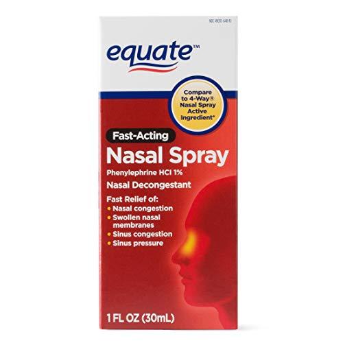 Equate 4-Way Nasal Spray 3-Pack Phenylephrine HCl - 1 fl oz each by Equate