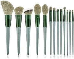 メイクブラシ 化粧筆 メイクブラシセット 高級繊維毛 柔らかい 化粧ブラシ 人気 化粧ポーチ付き 13本セット…