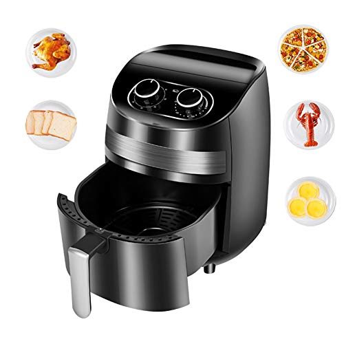 Air Fryer Oil Free 3.6L Fast Frying Fryer with Rapid Air Flow Circulation, Non-Slip Feet and Over Heat Protection Low Fat Cooking The Best Tool for Home Cooking 1400W