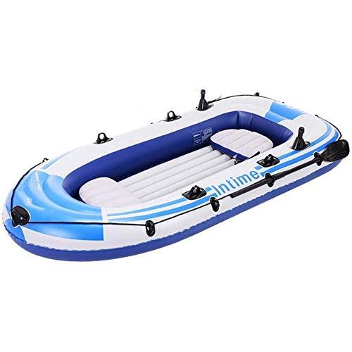 LLSZ Kayak, Barco Inflable de Material de PVC, Apto for la Pesca, al Aire Libre, Mar Deportes, 1-2 Personas