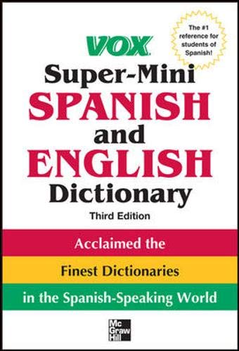 Price comparison product image Vox Super-Mini Spanish and English Dictionary