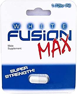Whitefusion Male Performance Supplement and Testosterone Booster - New! (1 Capsule)