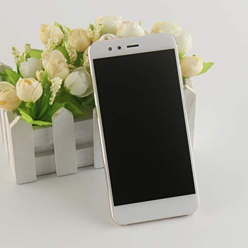 HYYT LCD Display + Touchscreen Digitizer + Rahmen für Huawei P10 Lite mit Frei Werkzeuge (Weiß)