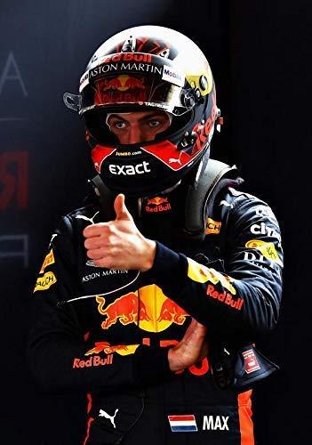 Generic Max Verstappen Red Bull Formel 1 F1 Rennen Plakat 11053 (A3-A4-A5) - A4
