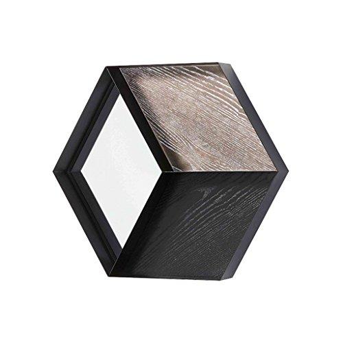 CJH minimalistische moderne badkamer spiegel opslag rack ijzer kunst muur opknoping badkamer spiegel badkamer spiegel muur gemonteerd cosmetische spiegel