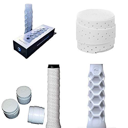 ZRZ Pack Grip Padel HESACORE Tour Grip + 3 unds overgrip Wilson Pro Confort Perforado Top Ventas