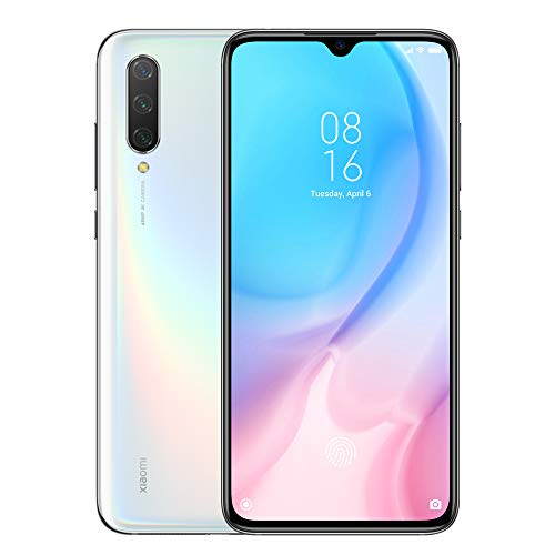 "Xiaomi Mi 9 Lite 128GB + 6GB RAM, 6.39"" AMOLED FHD+ LTE 48MP AI Triple Camera Factory Unlocked Smartphone - Global Version (Pearl White)"