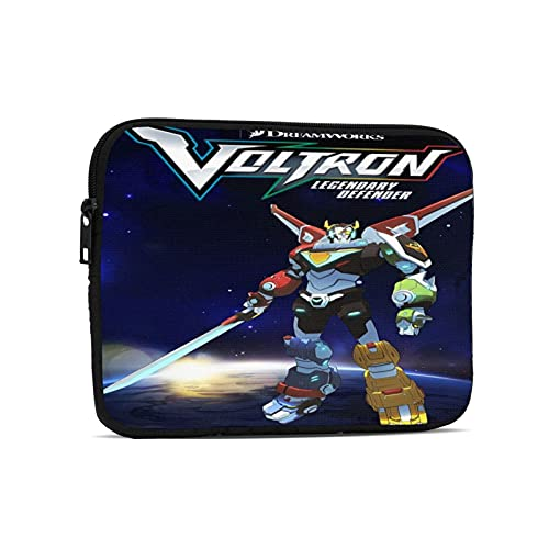 Voltron Laptop Sleeve High Density Oxford Cloth Case Protective Shockproof Zipper Padded Cover Carrying Bag Compatible With Notebook Computer Tablet Bag