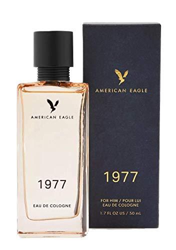 American Eagle Dewy greens, Cedar Leaf, Warm Musk 1.7 fl.oz. 1977 Men's Eau De Cologne