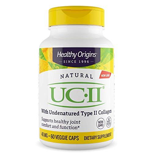 Healthy Origins - Natural UC II x 60 Vegetable Capsules | Joint Health...