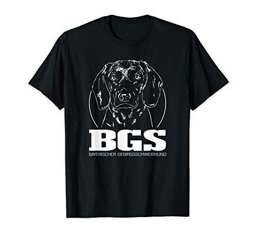 Bayerischer Gebirgsschweißhund BGS Hund Jagdhunde Wilsigns T-Shirt