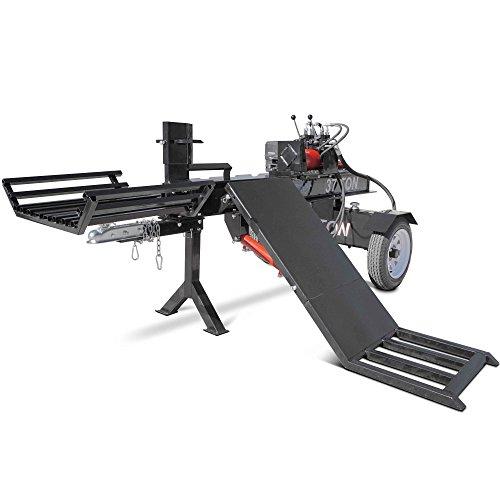 Best Bargain Titan Towable Hydraulic Deluxe Log Wood Splitter 37 Ton w/Log Lift 420cc Engine