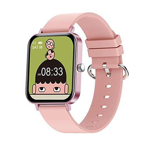 zyz CF82 Smart Watch para Hombres 1.69 Pulgadas, IP67 Impermeable, Ritmo Cardíaco Y Presión Arterial, Seguimiento De Fitness Pulsera Deportiva Pulsera,B