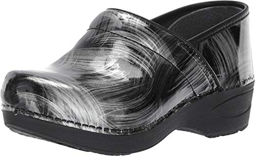 Dansko Women's XP 2.0 Pewter Brush Clogs 7.5-8 M US