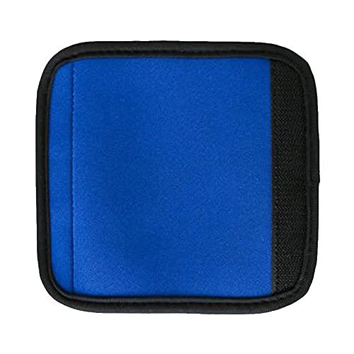 Cmstop Almohadillas de agarre con cinta adhesiva mágica cubierta de mango suave cojín protector para bolsa equipaje maleta pasamanos, Blue (Azul) - @1298530^LQQ