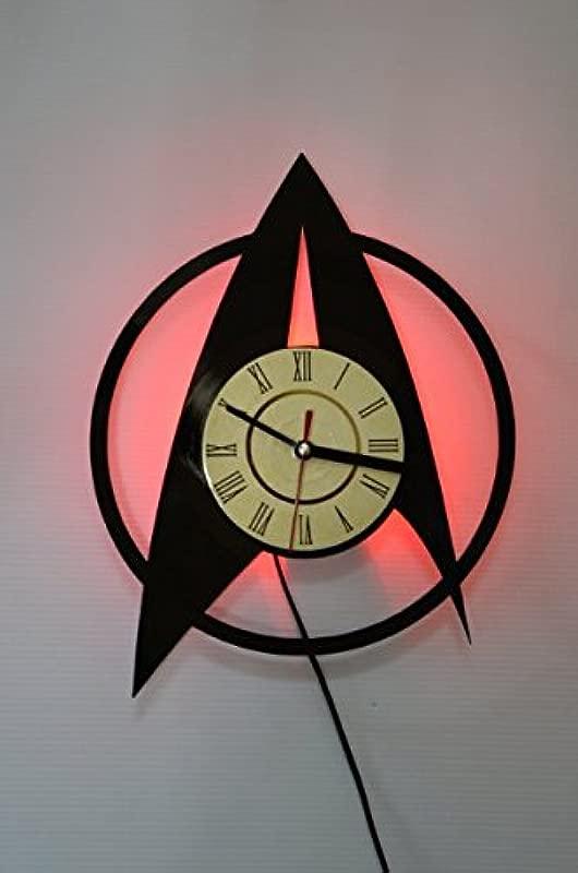 Star Trek Style Design Wall Light Night Light Function Star Trek Original Home Interior Decor Wall Lamp Perfect Gift Red