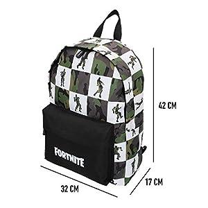 Fortnite – Mochila Black & White 32 x 42 cm (77087)