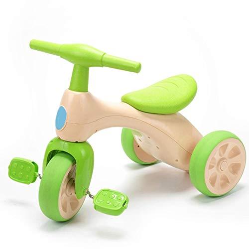 Bicicleta sin pedales para niños, equilibrio, bicicleta triciclo, juguete con pedal, primera bicicleta para niños y niñas, edad recomendada: 10 – 36 meses