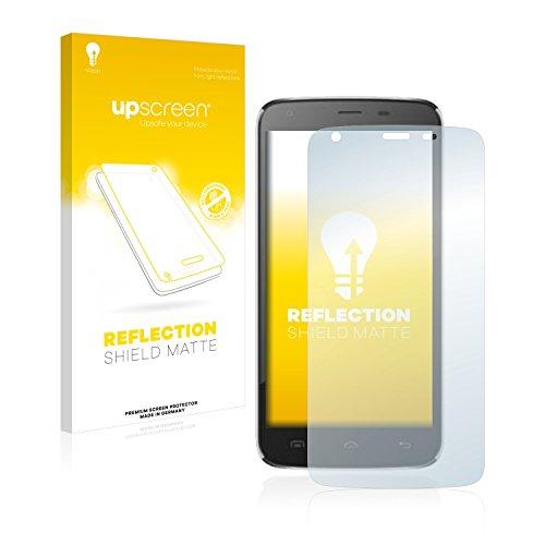 upscreen Entspiegelungs-Schutzfolie kompatibel mit Doogee T6 – Anti-Reflex Bildschirmschutz-Folie Matt