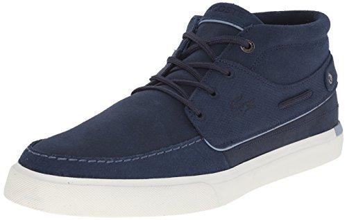 Lacoste Men's Meyssac Deck 116 1 Fashion Sneaker, Dark Brown, 12 M US
