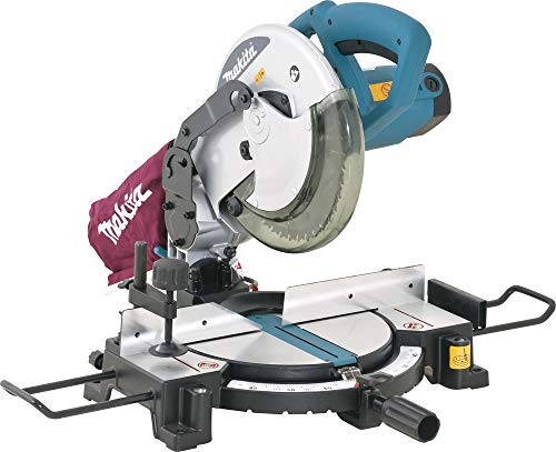 Makita ZMAK-MLS100 Sega da Banco, 255 mm, 240 V, Blu