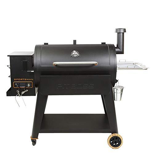PIT BOSS PB1100SP Wood Pellet Grill, Black