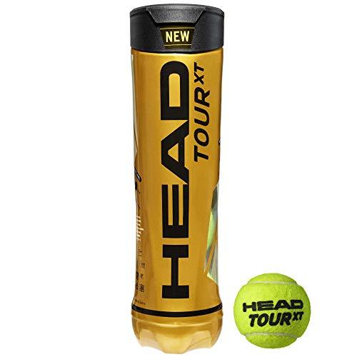 Head Palline da Tennis Tour XT - Tubo da 4