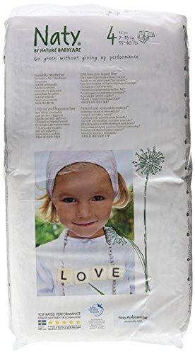 Nature Babycare Couches Écologiques Jetables Pack Economique - Taille 4 Maxi 7-18 kg - 46 couches