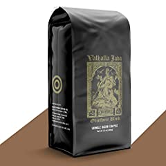 HIGH-QUALITY CAFFEINE: Valhalla Java whole beans are birthed from the nutrient-rich volcanic earth of Indonesia and Central and South America. Every bag is filled to the rim with coffee beans that have been infused with otherworldly caffeine that wil...