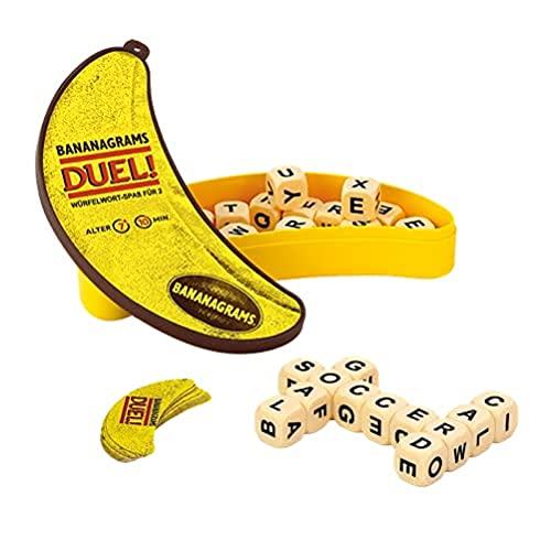 Asmodee BAND0002 Bananagrams Duel, Familienspiel,...