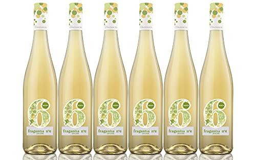 Fragantia 6 - Vino Blanco V.T. Castilla - 6 Botellas de 750 ml - Total : 4500 ml