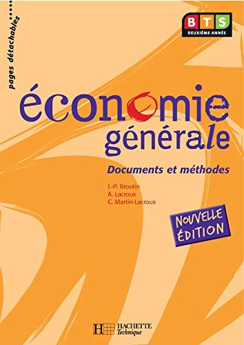 Économie générale, BTS 2e année, Livre de l'élève, éd. 2005