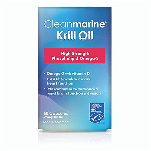 Cleanmarine Krill Oil 60 x 590mg