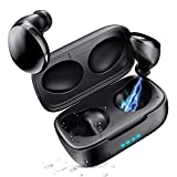 GIM Wireless Sport Earbuds with Charging Case,True Mini Wireless Earbuds with IPX5 Waterproof Built in Mic Headset Compatible iOS Android Smartphone