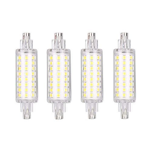 Lampadina alogena R7S 5W Lampada LED mais, bianco caldo/bianco freddo/bianco naturale, con illuminazione a 360°, faretto da 78 mm Riflettore per proiettore a doppia base AC 110V Portalampada doppio,