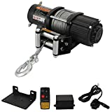 12V 5000 LBS Winch -HORSMILE Advanced Electric winches for Towing ATV/UTV Off Road with Mo...