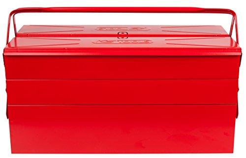cassetta attrezzi ferro KS Tools 999.0120 - Cassetta porta attrezzi in metallo