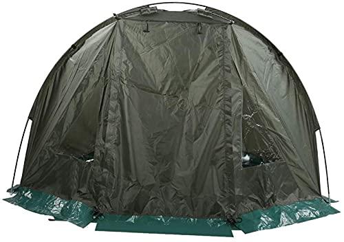 MWKL Tienda de Pesca de Carpas, 1-2 Personas, Impermeable, al Aire Libre, para Acampar, Senderismo, Tienda de Viaje con Ventana, 215x121x118cm