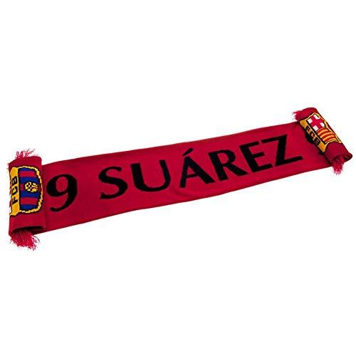 FC Barcelona Suarez Schal (Einheitsgröße) (Rot)