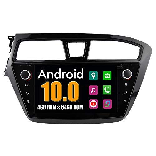 RoverOne Sistema Android Autoradio para Hyundai I20 2015 con Multimedia GPS Navegación Radio Bluetooth USB Mirror Link Estéreo