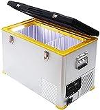 Setpower 47 Quarts 12 Volt Refrigerator, Portable Freezer Fridge, 0℉-50℉, DC 12/24V, AC 110-240V, Car Refrigerator for Travel, Camping, Road Trip, RV