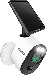 UNIDEN - APPCAM Solo PRO - WiFi Full HD Smart Camera - Single Pack with Solar Panel (SPS-01)