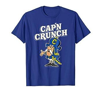 Cap n Crunch Retro Cap n with White 2D Logo T-shirt T-Shirt