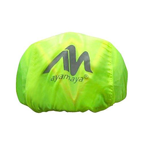2win2buy Helmüberzug, Fahrrad Wasserdicht Helmregenüberzug Regenschutz Helmschutz mit Reflektierendem Aufdruck Wind & Sonne Schutz - 4
