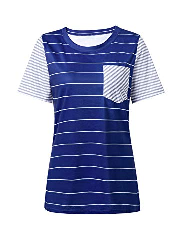 (40% OFF) Short Sleeve Striped T-Shirt $11.39 – Coupon Code