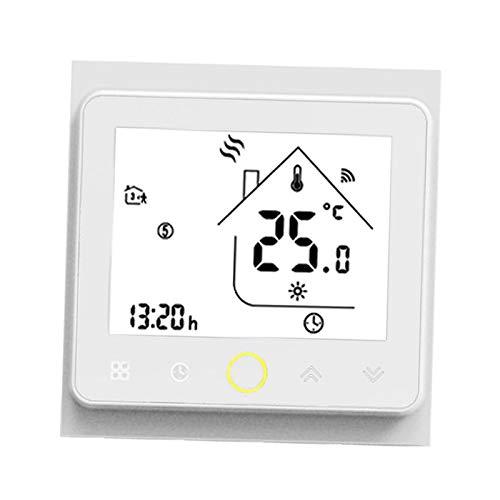 Amuzocity Controlador de Temperatura de Gas de Agua de Caldera de Termostato Inteligente Controlado Por WiFi