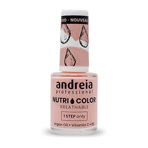Andreia Professional NutriColor - Atmungsaktiver Veganer Nagellack NC11 Pink - 10.5ml
