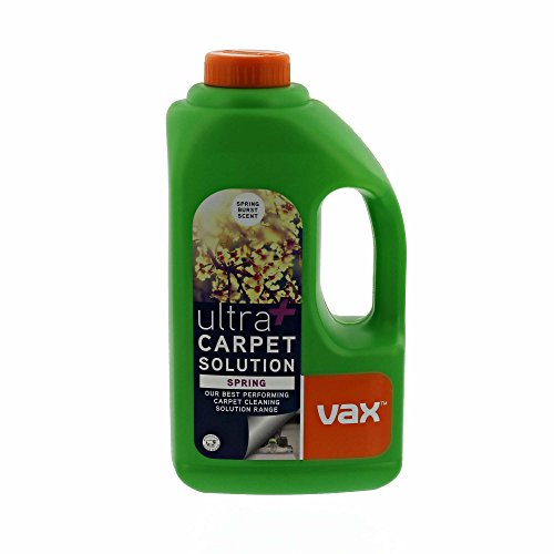 Vax Solutions Ultra+ Spring - Detergente per tappeti, 1,5 l