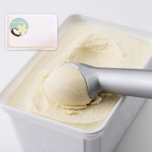 Soy GeLA! COCO VANILLA 1L 業務用 国産 ココナッツ バニラ オーガニック 低カロリー 豆乳ジェラート ビーガン アイスクリーム