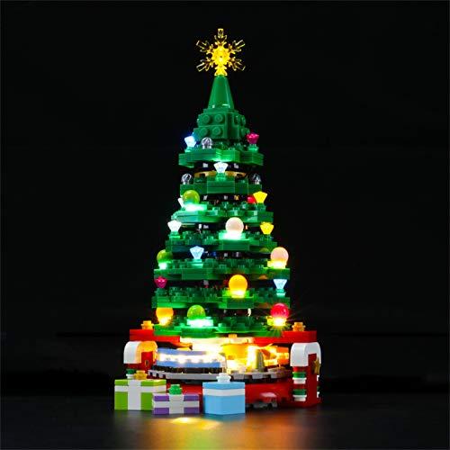 LIGHTAILING Set di Luci per (Albero di Natale) Modello da Costruire - Kit Luce LED Compatibile con Lego 40338(Non Incluso nel Modello)